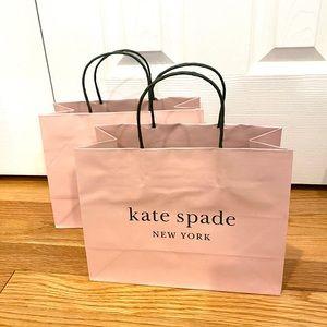 KATE SPADE Pink gift paper shopping bags